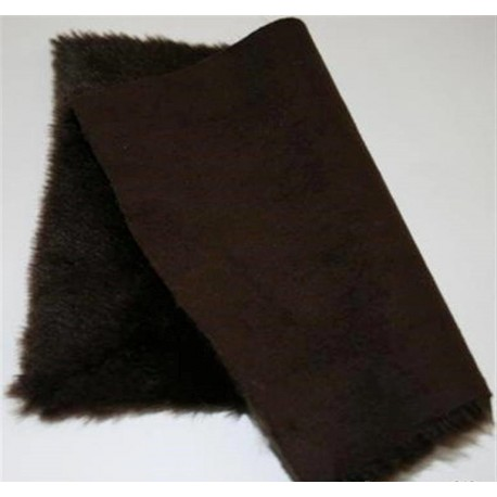 Eco sheepskin  02 brown