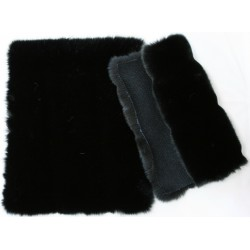 Eco Black mink