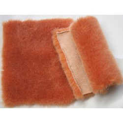 Eco Medium lenght orange grizzled fox