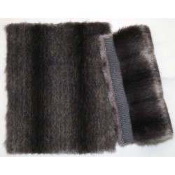 Eco mink grey/black/violet