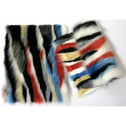 Eco mink tails multicolor