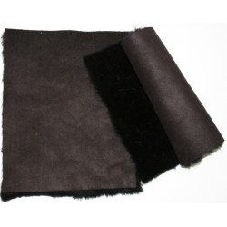Eco sheepskin  05 dark brown