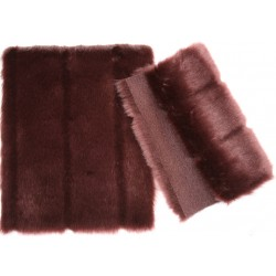 Eco Mink Venus bordeaux