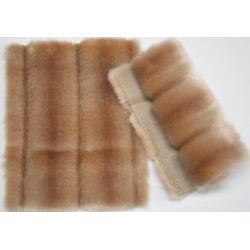 Eco Mink  Venus shaded salmon