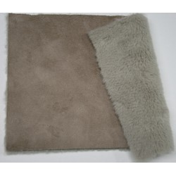 Eco sheepskin dove gray